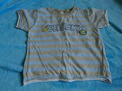 boys checked top size 9 to 12 months