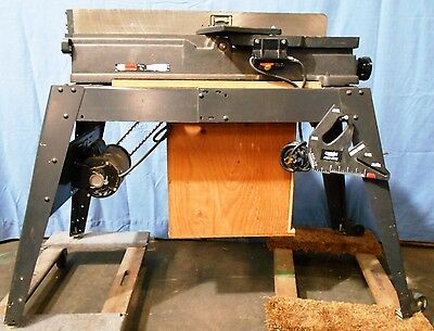 "Sears Craftsman 113.206931 6""x36"" Jointer/Planer on Table w/Extras"