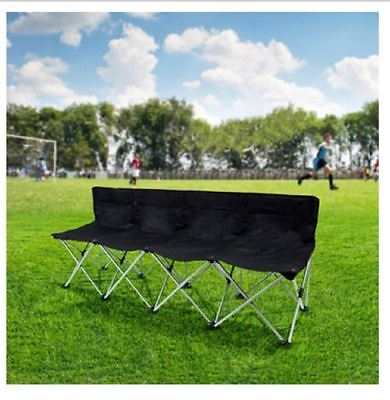 Tofasco 4 Person Folding Bench with Carry Bag - for camping/sports events/ beach
