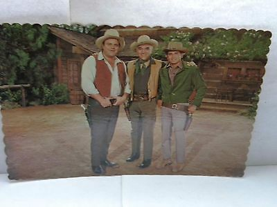"Never Used ""bonanza"" The Cartwrights Ponderosa Ranch, Nevada Postcard"