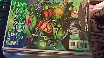 Green Lantern Corps 1-22, Annual 1 + Issue 0