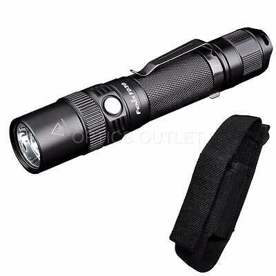 Fenix FD30 900 Lumens Zoomable Tactical LED Flashlight Update from PD35 FD41