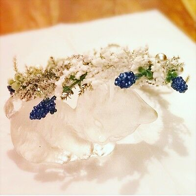 Child Holiday floral Crown
