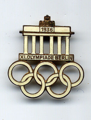 Berlin 1936 Olympic Games Official Badge Pin