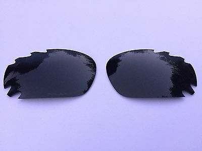 Replacement Polarised Onyx Black Oakley Vented Jawbone & Racing Jacket Lenses