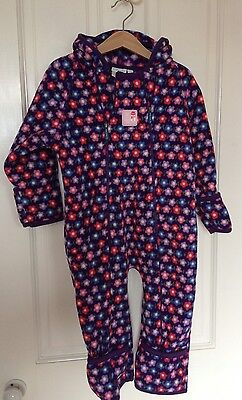 JoJo Maman Bebe Polar Fleece Suit - Age 2-3
