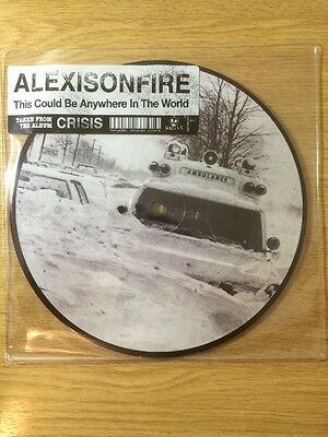 """Alexisonfire This Could Be Anywhere In The World 7"""" EP LP Hassle Picture Disc"""