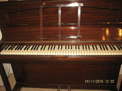 Piano- Upright - Henry Ward London