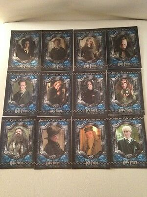 Full foil set of Harry Potter chase trading cards