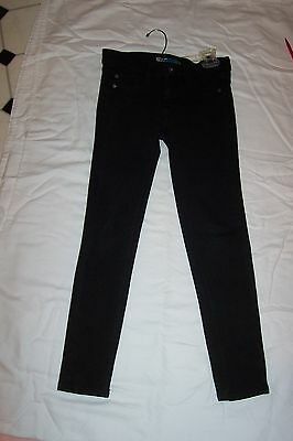 *IMPERIAL STAR* Girls BLACK JEANS Size 7 EXCPOC VERY CLEAN SEE PICS/DESCR