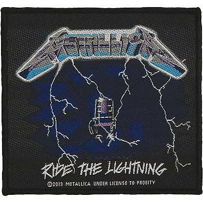 Metallica Men's Ride The Lightning Woven Patch Multi