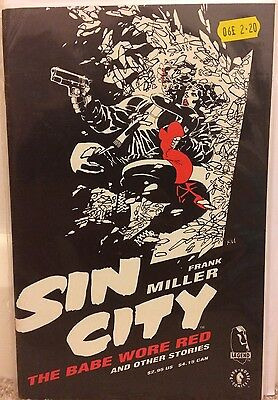 Sin City The Babe Wore Red One-Shot Special Frank Miller Dark Horse Comics 1994