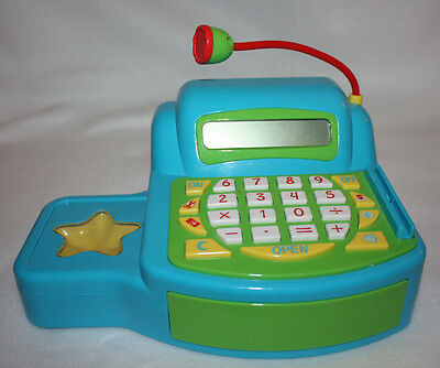 Baby Genius toddler child cash register interactive with sounds