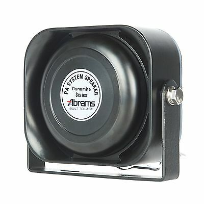 Abrams ABR-S100 Compact 100W Siren Speaker High Performance (Capable wit... NEW!