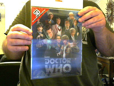 Doctor Who 3D Poster All Doctors 2 Matt Smith Great Xmas Gift!  Free Uk Post