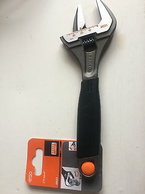 """Bahco Adjustable Spanner Wrench. 9031 - Extra Wide Jaw 8"""" 218mm NEW"""