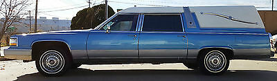 1991 Cadillac Brougham Brougham 1991 Blue Cadillac Superior Crown Hearse - only 34K Miles