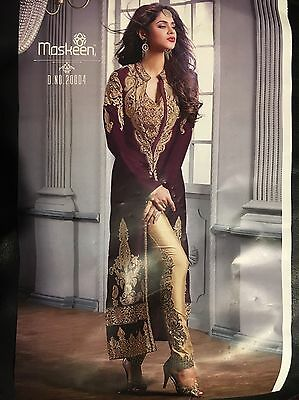 Indian Bollywood Pakistani Anarkali Churidar Salwaar Kameez Trouser Suit