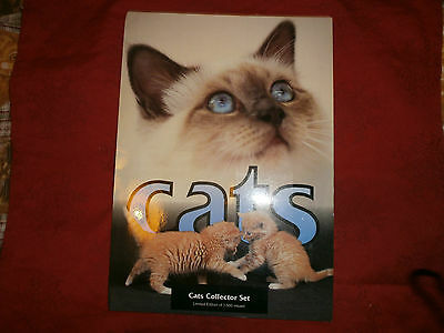 Telecartes Chats-Cats Collector Set -Siamois-Persan-Tirage Limite