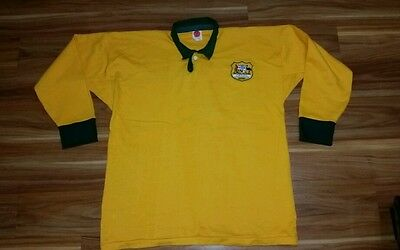Australia Wallabies Rugby Union Retro Jersey Super size