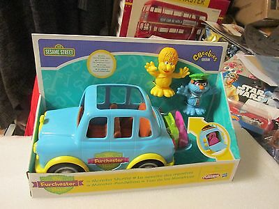 Furchester  Sesame Street Monster Shuttle Taxi New Boxed