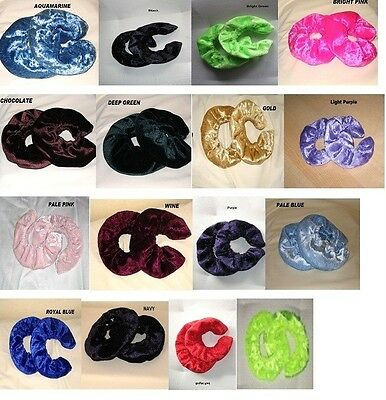 Ice Skate Blade Soakers Covers velour various colours to choose from