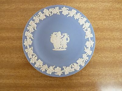 Wedgwood Blue Jasperware Pin Dish Made In England