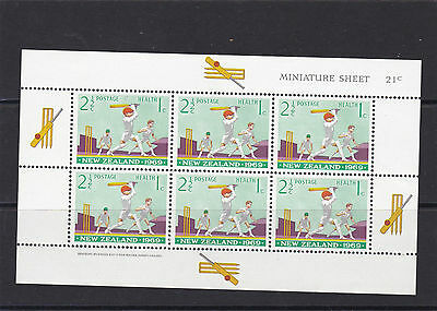 New Zealand, 1969, Health Stamps, 2 MS, SG MS902, MLH.