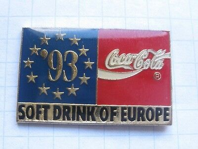 COCA-COLA / COKE / SOFT DINK OF EUROPE 93 ........... Pin (O9)