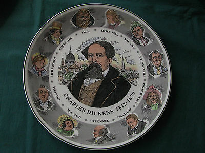Royal Doulton Charles Dickens Cabinet TC 1042 Plate NR
