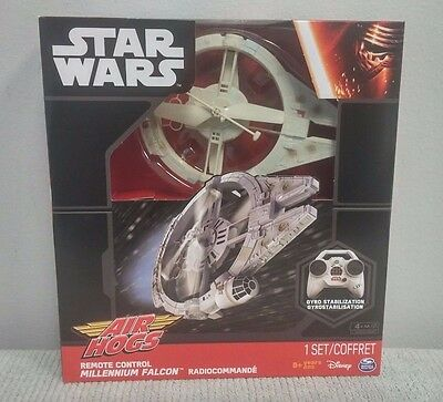 Air Hogs STAR WARS Remote Control MILLENIUM FALCON - New - FREE SHIPPING