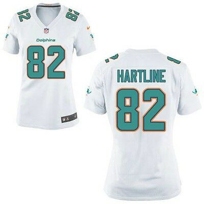 NIKE NFL MIAMI DOLPHINS (BRIAN HARTLINE) JERSEY - XXL - New With Tags