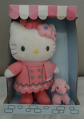 Hello Kitty Parisian Plush w/ with Pink Poodle ~ Still in original box