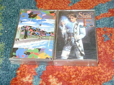 PRINCE Sheila E 2 CASSETTE Lot AROUND THE WORLD IN A DAY Paisley Park IN ROMANCE