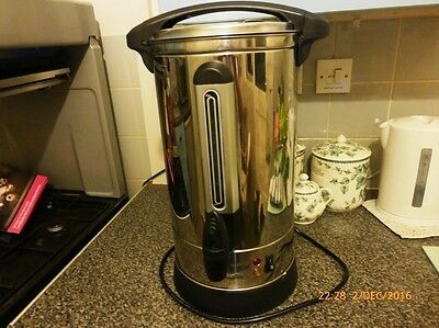 VonShef 8L Domestic/Catering Water Boiler/Urn BOXED USED ONCE ONLY - CHRISTMAS