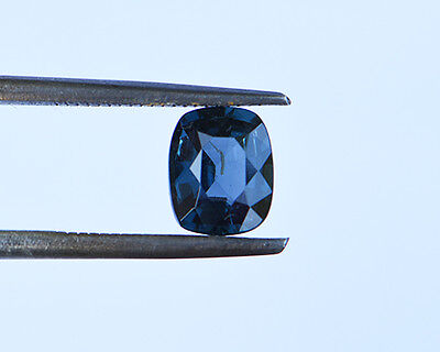 1.62 Cts Certified Natural Unheated Cushion Cut Ceylon Blue Spinel Gemstone
