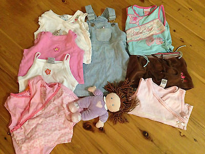 Baby girls size 0 mixed bundle of clothes