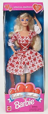 Valentine Sweetheart Barbie Special Edition Nrfb