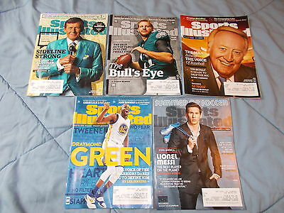 sports illustrated 5 pack may 2016 messi green scully wentz sager