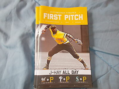 pittsburgh pirates first pitch magaine issue 8 2016 josh harrison