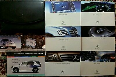 2004 Mercedes Benz M Class Owners Manual  Complete Set With Case