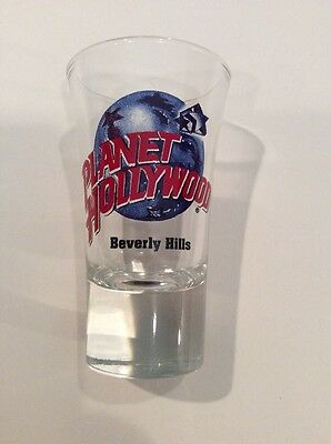 Planet Hollywood Tall Shot Glass - Beverly Hills