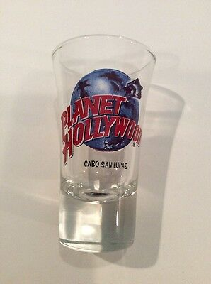 Planet Hollywood Tall Shot Glass - Cabo San Lucas