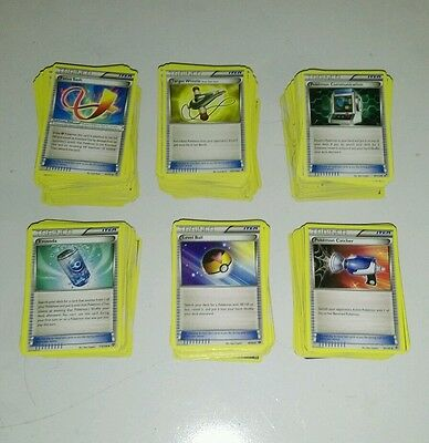 Pokemon TCG 600 Random Trainer Card Lot