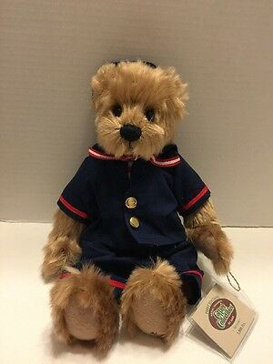"""Ganz Cottage Collectible """"Seymour"""" Sailor Bear 1st Edition Yr 2000 Jointed"""