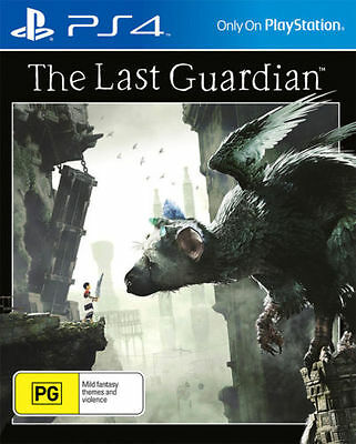 Brand New The Last Guardian For Ps4 Sony Playstation 4 Original Aus Version