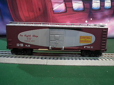 Lionel 6-17224 9464-197 Central Of Georgia Standard O Boxcar Built 2-97