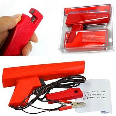 Timing Light Gun Tester Ignition Tool for Car Auto Motorcycle Inductive Xenon