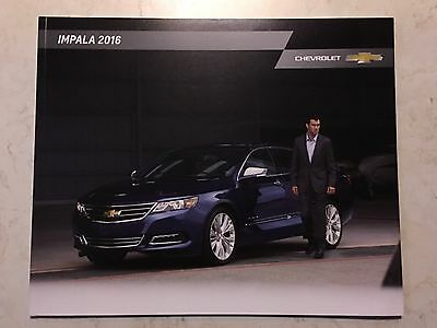 2016 Chevy IMPALA 32-page Original Sales Brochure