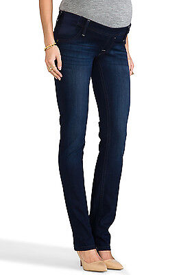 NWT DL1961 Maternity Kate in Moscow Slim Straight Stretch Jeans 30 x 33 $178